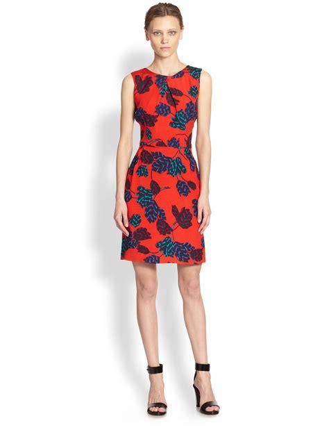 Designer Potw Marc Silk Dress by Lyst Marc By Marc Mareika Silk Vback Tulip Dress