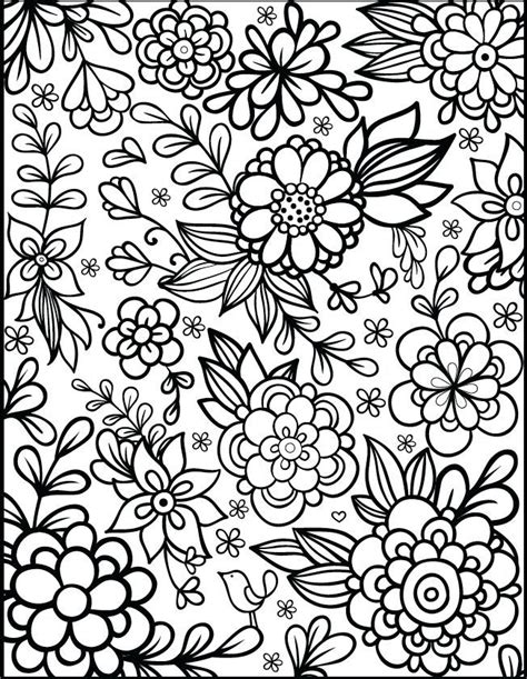 flower color page best 25 flower coloring pages ideas on flower