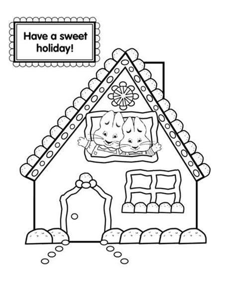 Pin By April Bash On Christmas Crafts Ornaments For Kids Max And Ruby Coloring Pages To Print