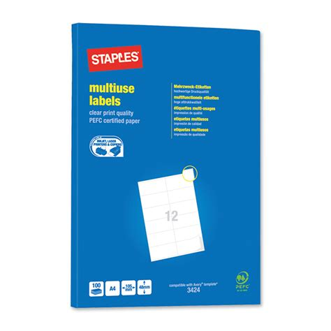 Staples Print Labels Online Printing Staples Labels Template