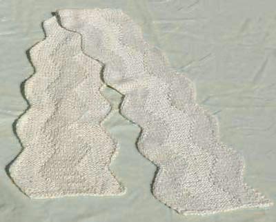 zig zag lace pattern lace zig zag scarf knitting pattern knitting pattern