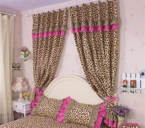 cheetah curtains bedroom beautiful cheetah curtains bedroom contemporary trends