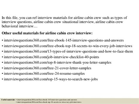 Airways Cabin Crew by Top 10 Airline Cabin Crew Questions And Answers