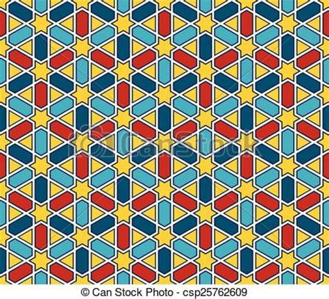 mosaic pattern clipart vector clipart of moroccan style mosaic pattern moroccan