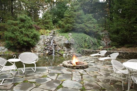 patio koi pond patio waterfall koi pond fire pit our mod house