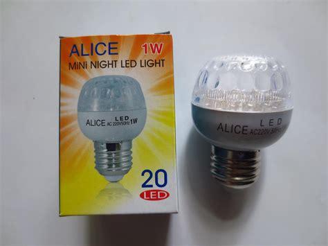 Lu Led 15 Watt Bohlam Hemat Energy jual bohlam led l 1 watt hemat energi cahaya terang sejuk lu bulb 1w di