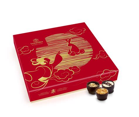 new year gift box singapore leonidas creates mid autumn festival gift box