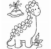 Coloriage Dinosaure &224 Colorier  Dessin Imprimer