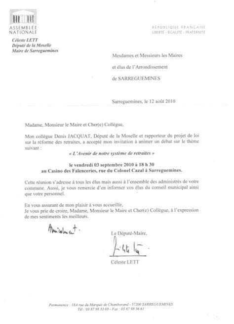 Exemple De Lettre D Invitation Pour Reunion Modele Lettre Invitation Reunion