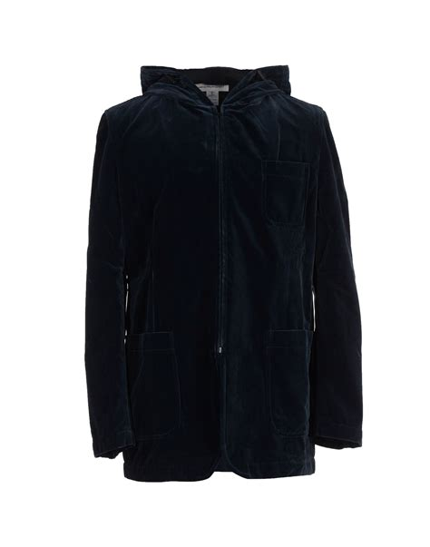 Sweater Comme Des Garcons Abu Brothersapparel lyst comme des gar 231 ons jacket in blue for