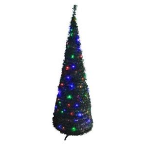 buy christmas tree pop up 1 8m green multicolour