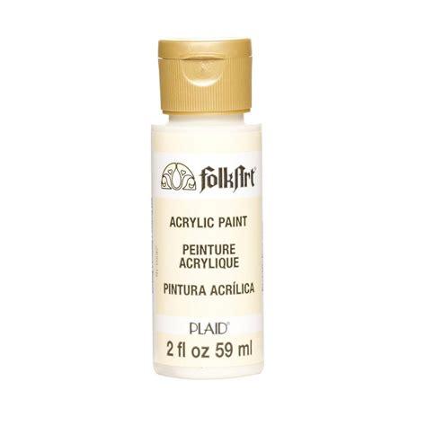 folk acrylic paint ingredients folkart 2 oz tapioca acrylic craft paint 903m the home