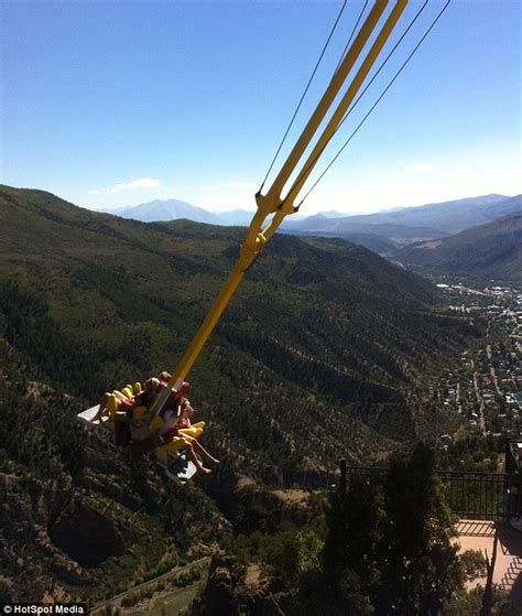giant swing ride is this the world s scariest swing new giant canyon