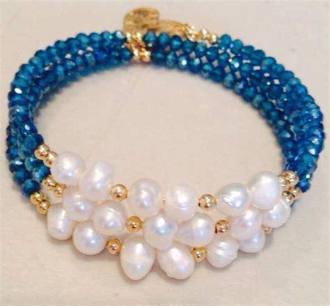 como hacer pulseras con perlas pulsera con perla cultivada y cristal dona pulseras y