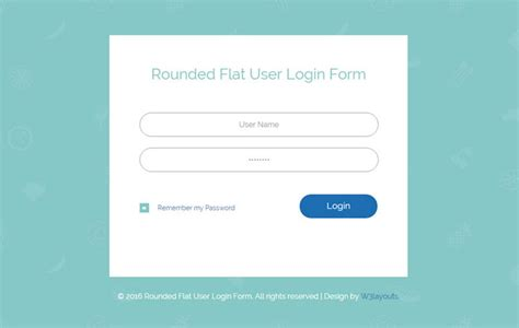 65 attractive html css login form templates page 2 of 7