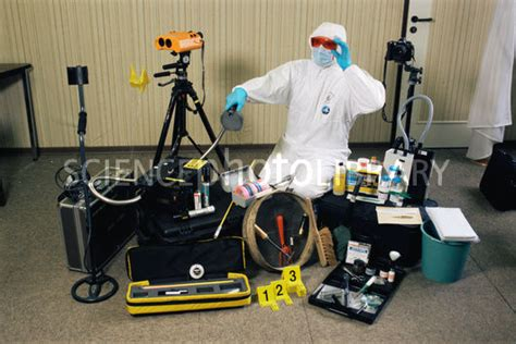 Forensic Photography Supplies by Forensic Science Equipment Stock Image H200 0486 Science Photo Library