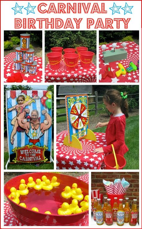 carnival themed birthday decorations a carnival circus themed birthday driven by decor