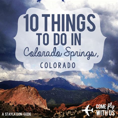 Things To Do In A Cabin by 10 Things To Do In Colorado Springs Co