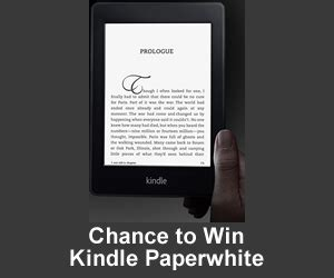 win a kindle paperwhite or kindle paperwhite