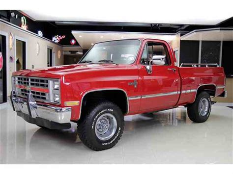 85 chevrolet silverado 1985 to 1987 chevrolet silverado for sale on classiccars