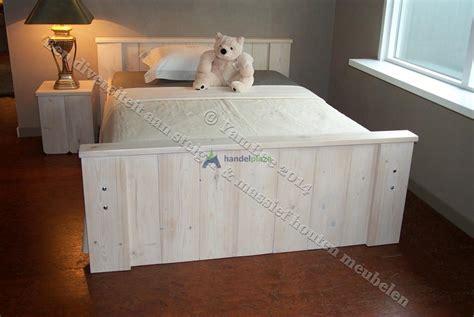 steigerhout bed 2 persoons handelplaza nl steigerhouten bed 2 persoons robuust