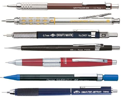 most comfortable mechanical pencil mechanical drafting pencil quality alvin pentel