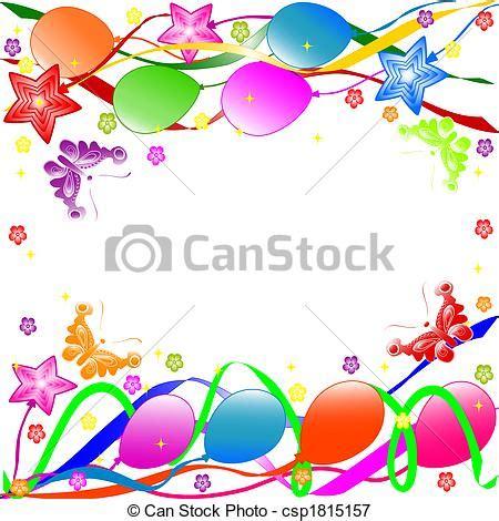 Banner Ulang Tahun 1 X 1m Free Design stock de ilustraciones de feliz cumplea 241 os plano de