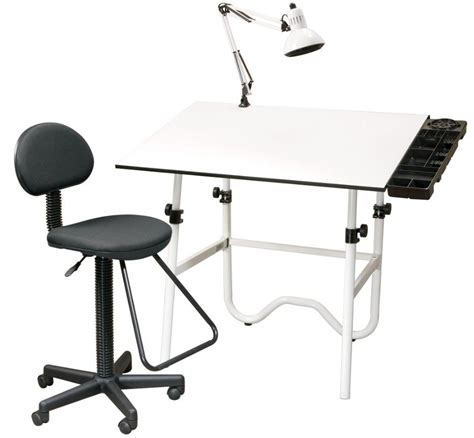 Drafting Table Chair Alvin Onyx Creative Center Drafting Table And Chair
