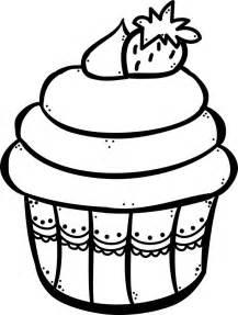 cupcake para colorear im 193 genes teachers pinterest