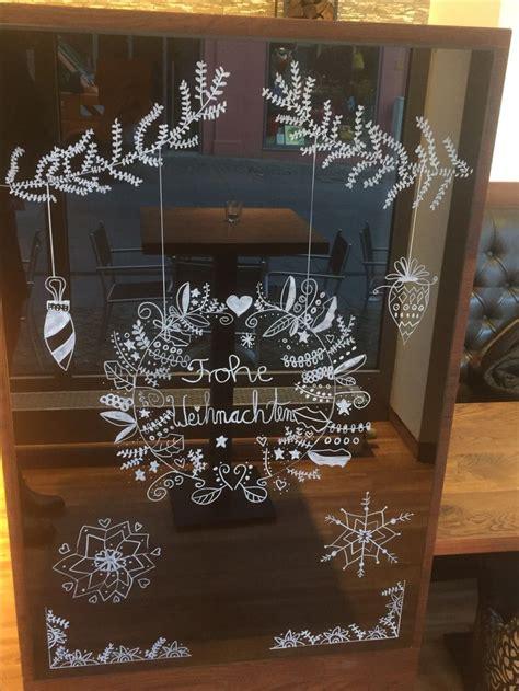 Fensterdeko Weihnachten Kreidemarker by 68 Besten Fensterdeko Bilder Auf Fensterdeko