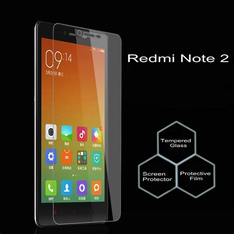 Tempered Redmi Note 2 for xiaomi redmi note 2 tempered glass screen protector 0