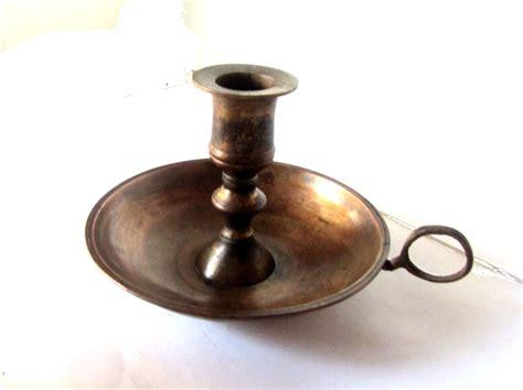 Vintage Candle Holders Metal Candle Holder Copper Candle Holder Antique