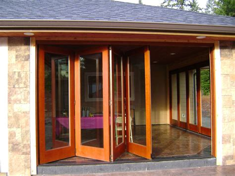 folding window walls handmade folding exterior wood window walls by lacey door