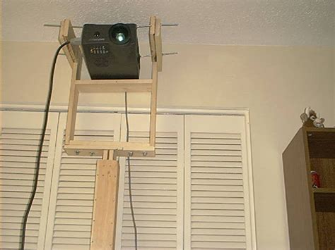 projector stand behind couch diy projector stand do it your self