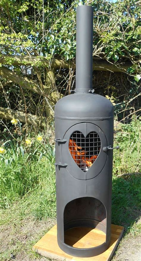 gas cylinder chiminea gas bottle wood burner log burner chiminea patio heater