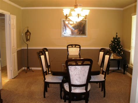 Dining Room With Chair Rail Kitchen Interior Design