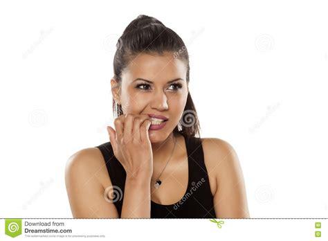 imagenes mujeres nerviosas mujeres nerviosas imagen de archivo imagen de marr 243 n
