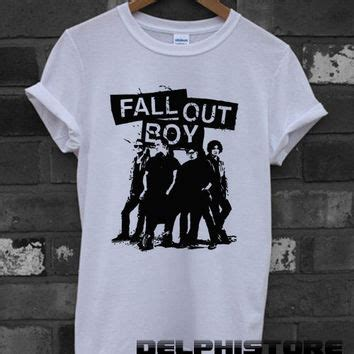 Tshirt Fall Out Boy Fob fob shirt fall out boy logo t shirt from delphistore on etsy