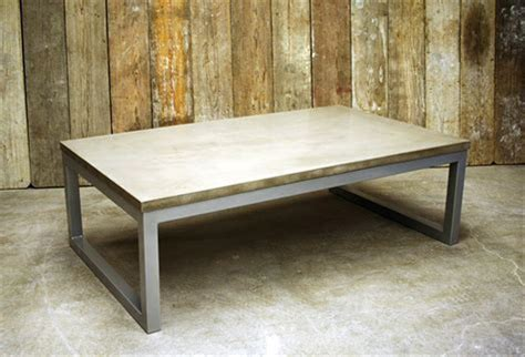 concrete and metal coffee table some ideas concrete coffee table the decoras jchansdesigns