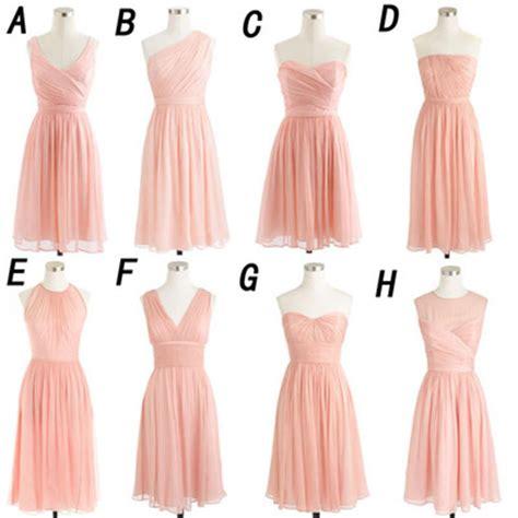 Pink Bridesmaid Dresses by Bridesmaid Dress Pink Bridesmaid Dress Mismatched