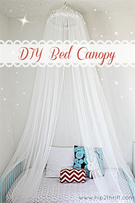 make a bed canopy 5 ways to update your bedroom over a weekend the decal guru