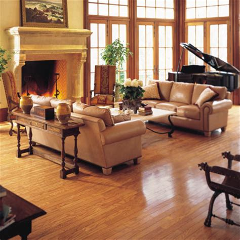 hardwood flooring ideas living room living rooms flooring idea pulaski plank light oak by