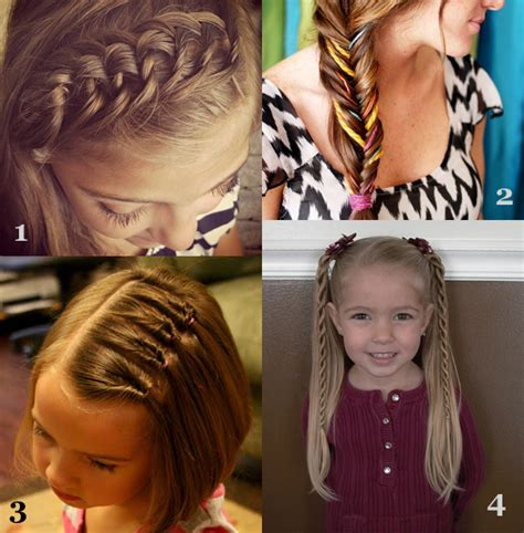 easy hairstyles for school picture day school hairstyles for girls 2012