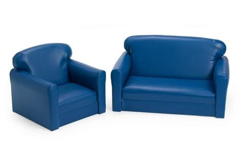 vinyl toddler sofa chair set