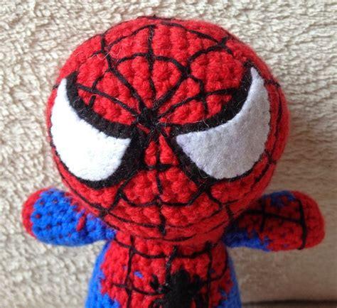 spiderman pattern crochet spiderman amigurumi pinterest