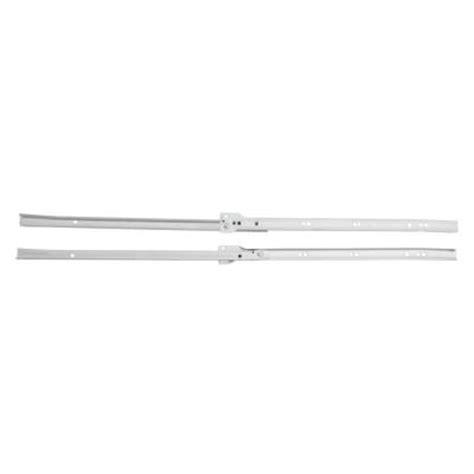 Home Depot Cabinet Drawer Slides Amerock 16 In Self Closing Drawer Slide C17002nb16ws