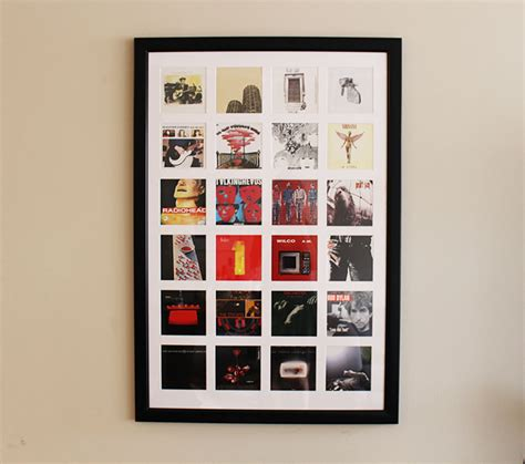 Great Idea For Cheap Wall Album Covers In Cd Cover Wall Simply Gifted