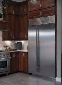 Sub zero bi48sid 48 quot built in side by side refrigerator with spill