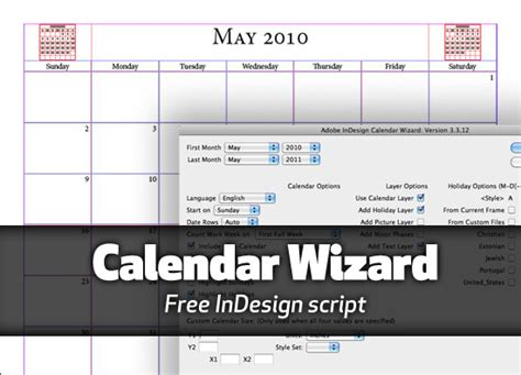 Reubenwhitson S Blog Weblogs Calendar Template Indesign Free