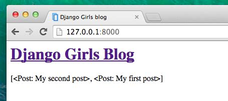 django queryset tutorial szablony django 183 django girls tutorial